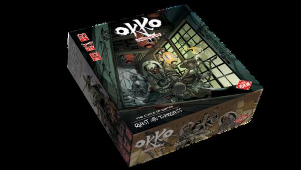 la boite du jeu Okko Chronicles