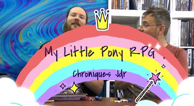 freuh et fletch découvrent my little poney le jdr en francais