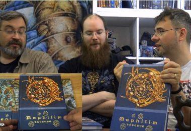 Les compères fletch, merlin et freuh présentent le jdr nephilim legende