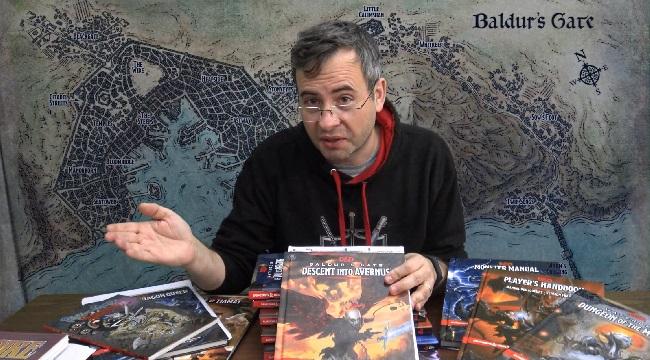 campagne de donjon et dragons baldur's gate descent into avernus