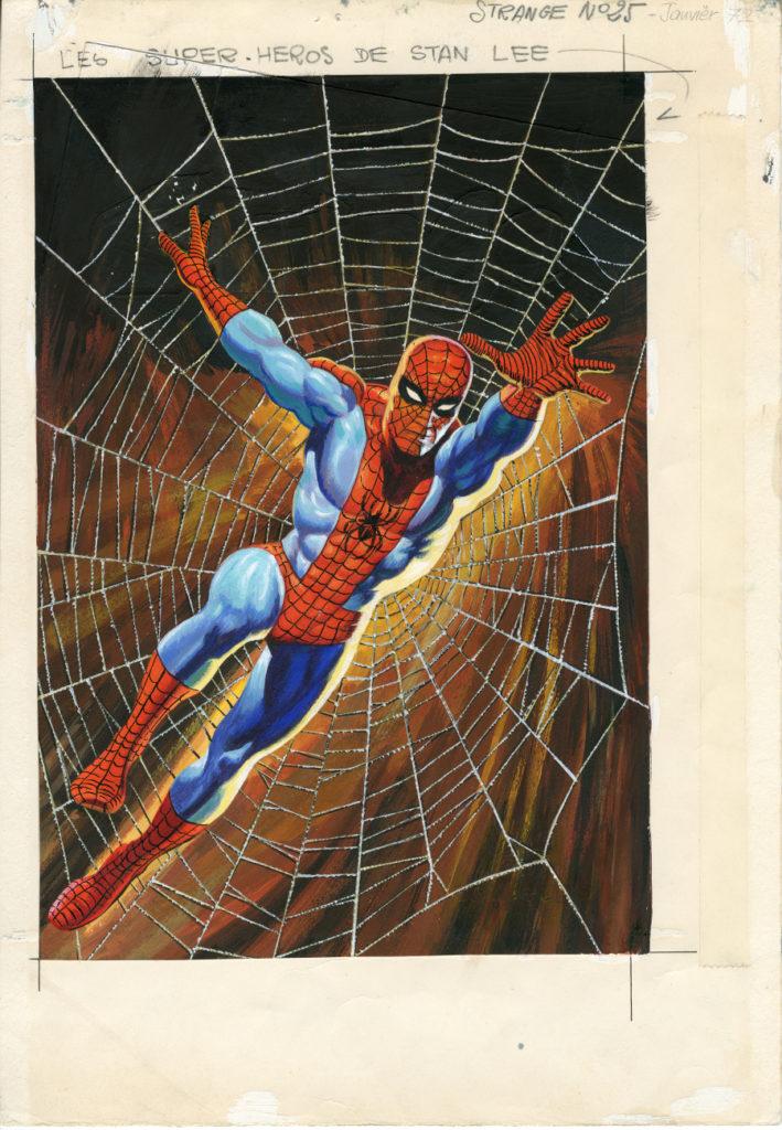Spiderman par Fresano exposition Angoulême 2020