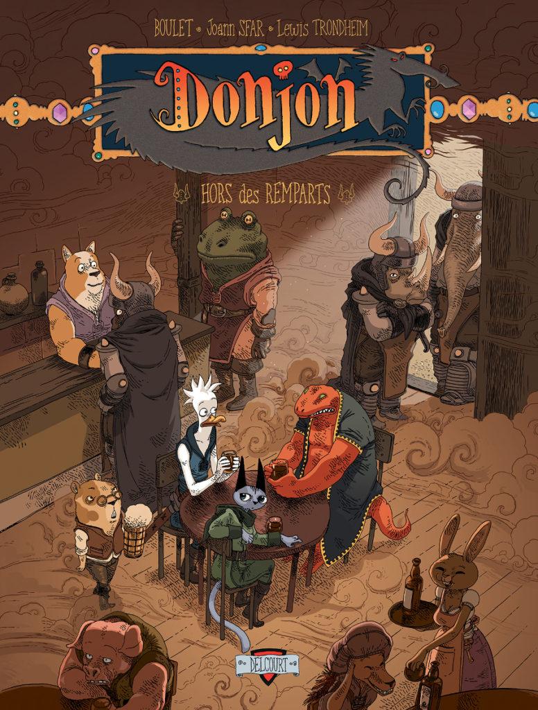Donjon Zenith tome 7 Sfar Trondheim Boulet