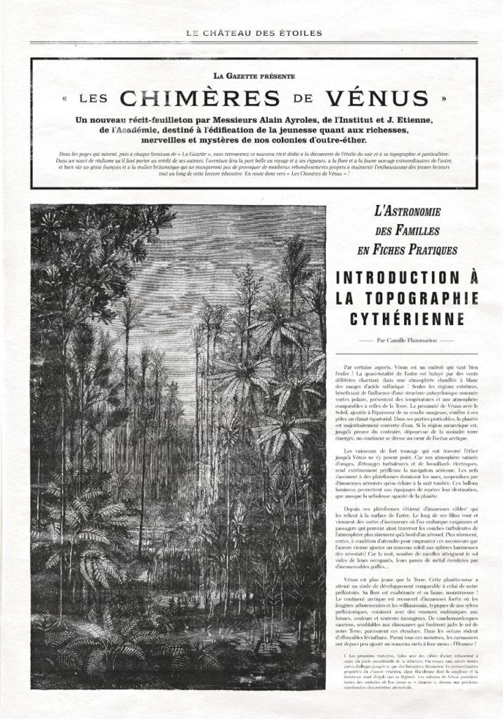 Gazette 13 Chateau des Etoiles Article
