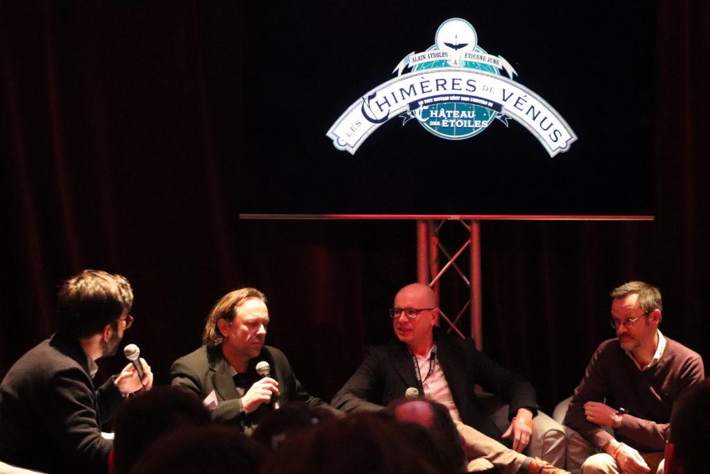 Alain Ayroles, Alex Alice, Etienne Jung - Conférence de presse Rue de Sèvres FIBD 2020