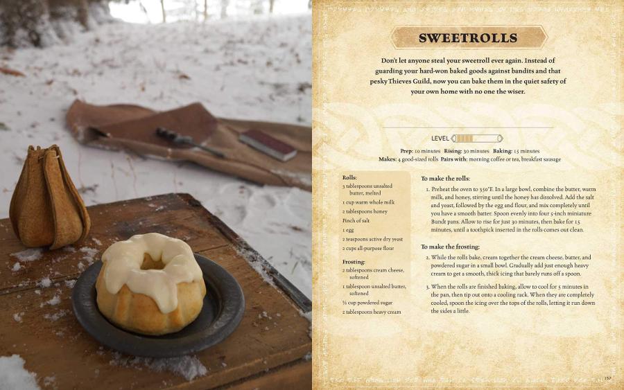 Recette Elder Scrolls - Gâteau roulé