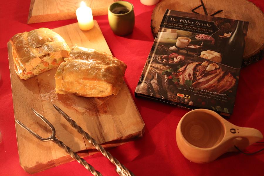 Recette Elder Scrolls - saumon dela Rivière blanche