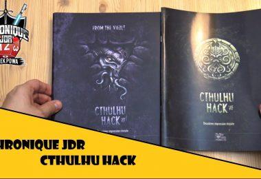feuilletage du jeu de rôle cthulhu hack chez les 12 singes