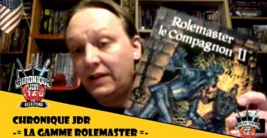 magnamagister présente rolemaster le jeu de roles des années 90