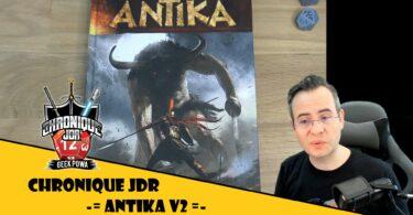 Fletch chronique le jeu de rôles antika V2 écrit par Bruno Guerin