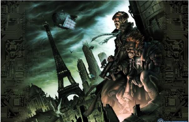 le jdr shadowrun à Paris