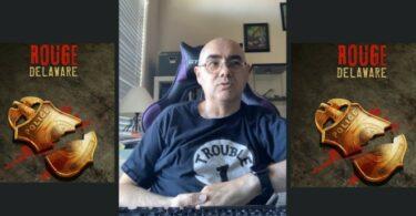 Benoit attinost auteur de jeu de rôle donne une interview à l'équipe de geek powa