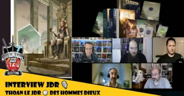 Interview Jeu de role Thoan avec Stephan Arnier